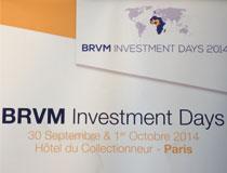 BRVM Investment days : conception et déploiement à Paris et Dubaï