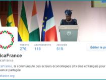 Accompagnement digital du lancement de la fondation AfricaFrance